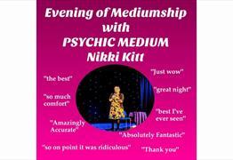 Evening of Mediumship with Nikki Kitt at Hanham Community Centre