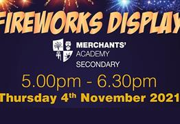 Firework Display at Merchants' Academy