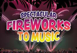 Fireworks to Music at Avon Valley Adventure and Wildlife Park