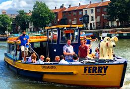 Free Virtual Ferry Tour of Bristol Harbour and Underfall Yard