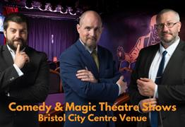 Friday Night Comedy & Magic Theatre Shows at Smoke & Mirrors Magic Theatre Bar