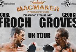 Froch & Groves Tour at Mecure Bristol Grand Hotel