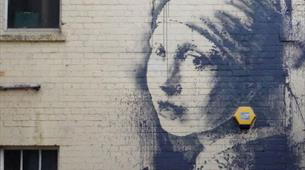Banksy Graffiti The Girl with the Pierced Eardrum
