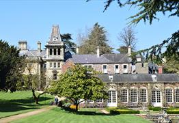 Peek at the private gardens of Goldney Hall