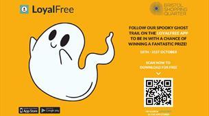 Halloween Ghost Trail at Bristol Shopping Quarter