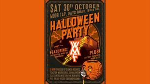 Halloween for Cancer Research at Moor Beer Co.