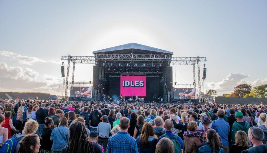 IDLES on The Downs