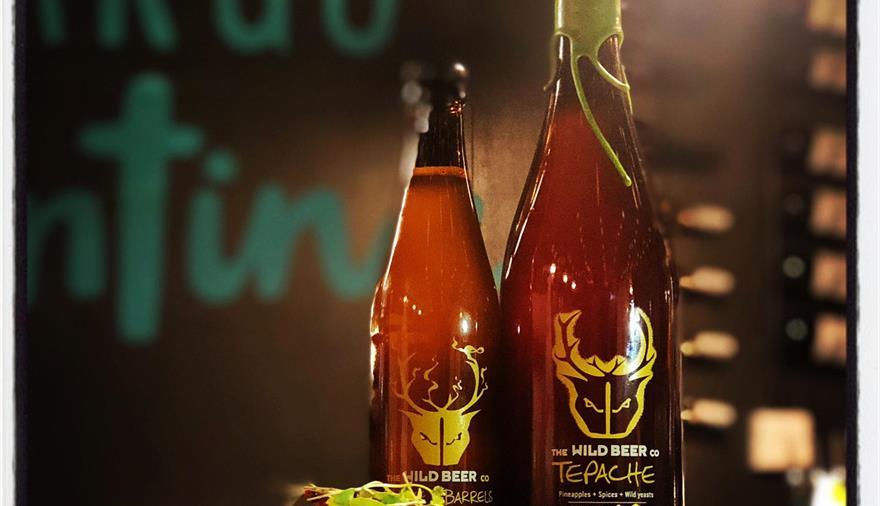 Taco and Beer at Cargo Cantina