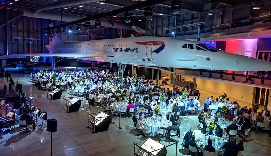 Aerospace Bristol Conference area