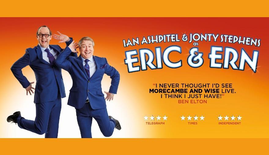 Ian Ashpitel & Jonty Stephens as Eric & Ern at The Playhouse