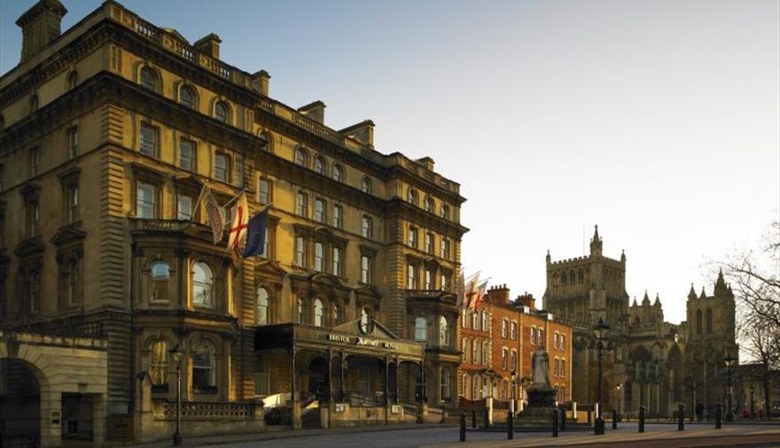 Bristol Marriott Royal Hotel exterior