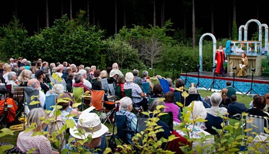 'Much Ado About Nothing' Outdoor Theatre at Goldney Gardens