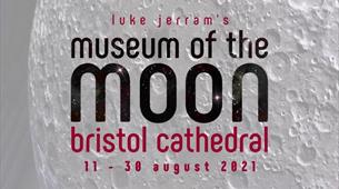 Museum of the Moon at Bristol Cathedral