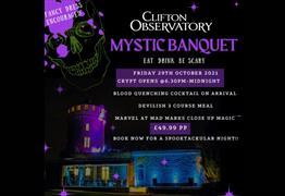 Mystic Banquet at Clifton Observatory