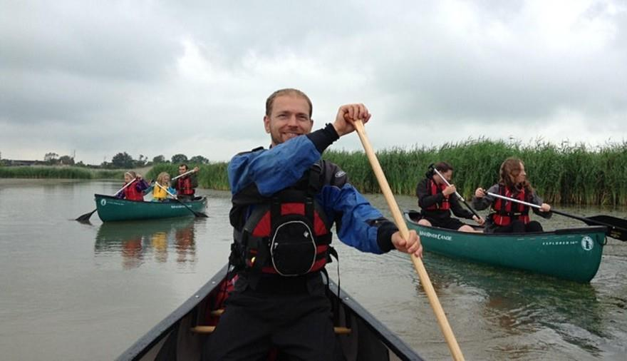 Nature by Canoe at RSPB Ham Wall Nature Reserve