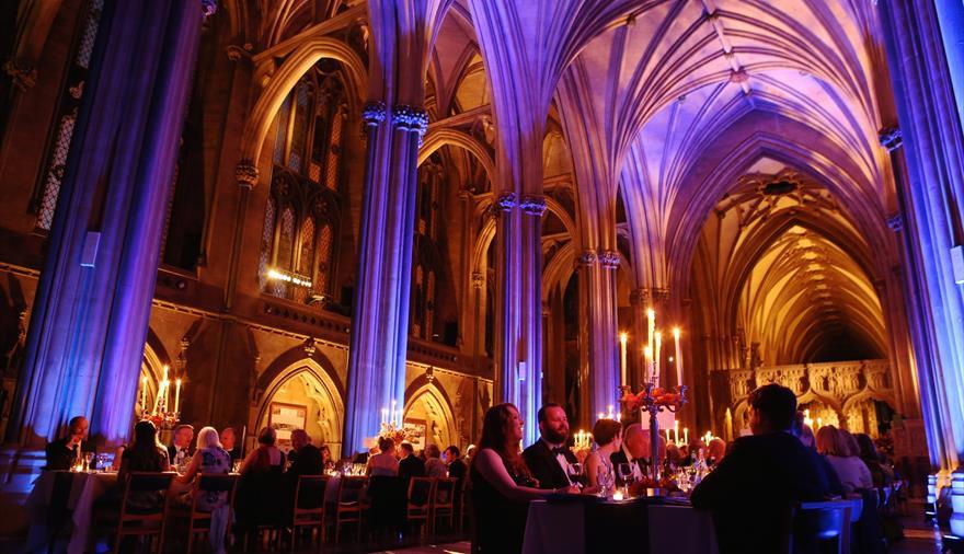 The Fitzhardinge Dinner at Bristol Cathedral