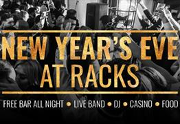 New Year's Eve Party at Racks Bar & Kitchen