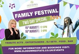 Old Down Country Park Family Festival 2021