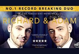 Richard and Adam: The Greatest Songmen at The Playhouse