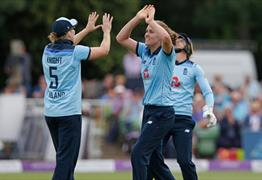 Royal London One-Day Series: England Women v India Women at Bristol County Ground