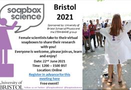 Soapbox Science Bristol