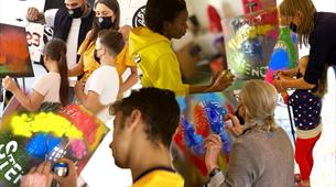 'Introducing Stencil Art' Spray Sessions with Where The Wall