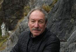 Stephen Sparks with Spike Island