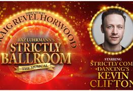 Strictly Ballroom The Musical at Bristol Hippodrome poster