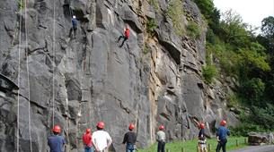 Abseiling Avon Gorge with Adventurous Activity Company