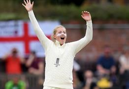 Test Match: England Women v India Women at Bristol County Ground