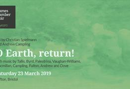 Thames Chamber Choir: O Earth, Return! at St Pauls Church