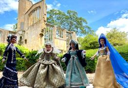 The Change in Ladies Costume from 1066 – 1980 at Sudeley Castle & Gardens