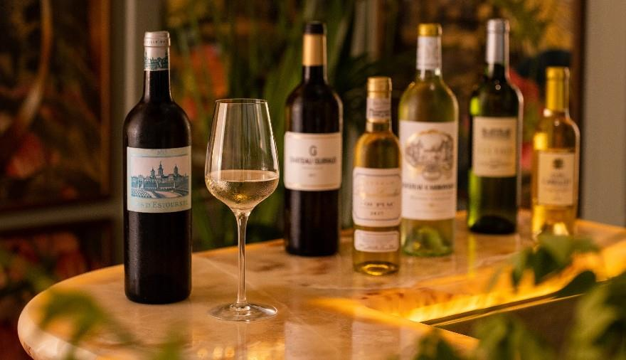 Tour Bordeaux by the Glass at The Ivy Clifton Brasserie