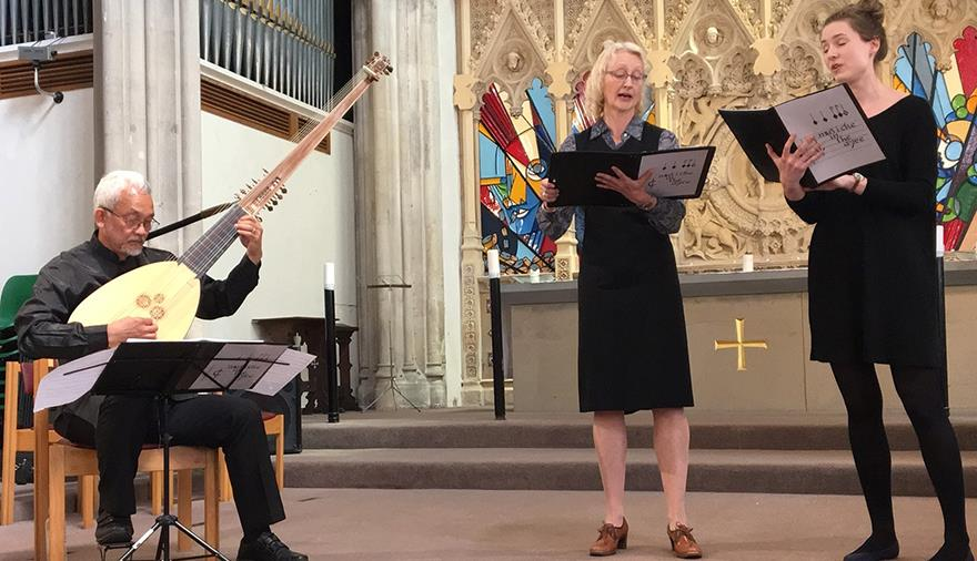 Tune thy musicke to thy hart - lute songs with Musicke in the Ayre at St Stephen's Church
