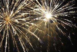 Fireworks at Weston-super-Mare Cricket Club