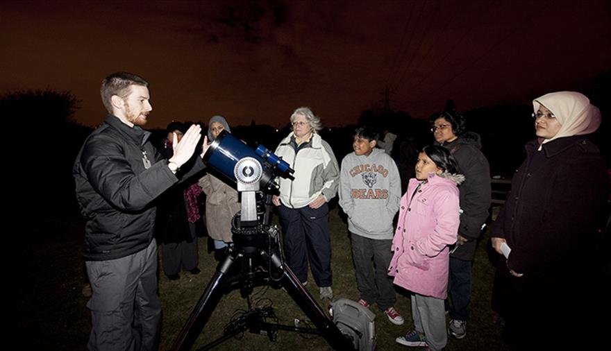 Christmas star party on the Downs