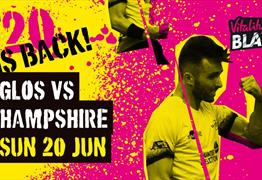 Vitality Blast: Gloucestershire v Hampshire at Bristol County Ground