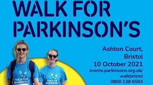 Walk for Parkinson's at Ashton Court