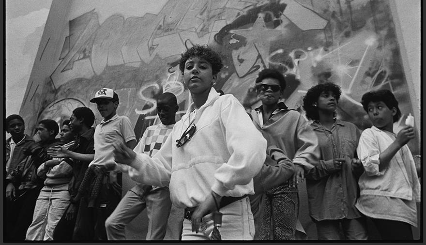 Wall Posse B Girl at St Pauls Carnival 1986 Credit Beezer