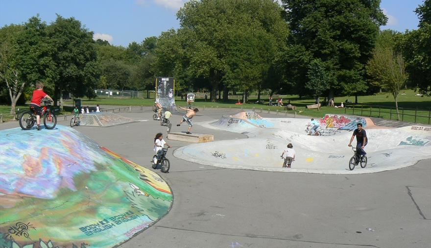 St Georges Park Wheels Area