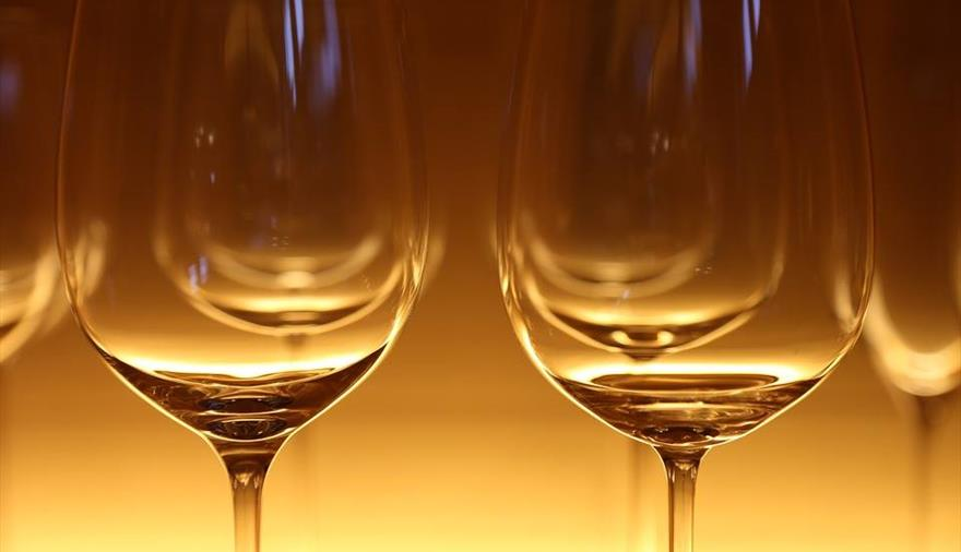 Wine tasting evening at Thornbury Castle Hotel