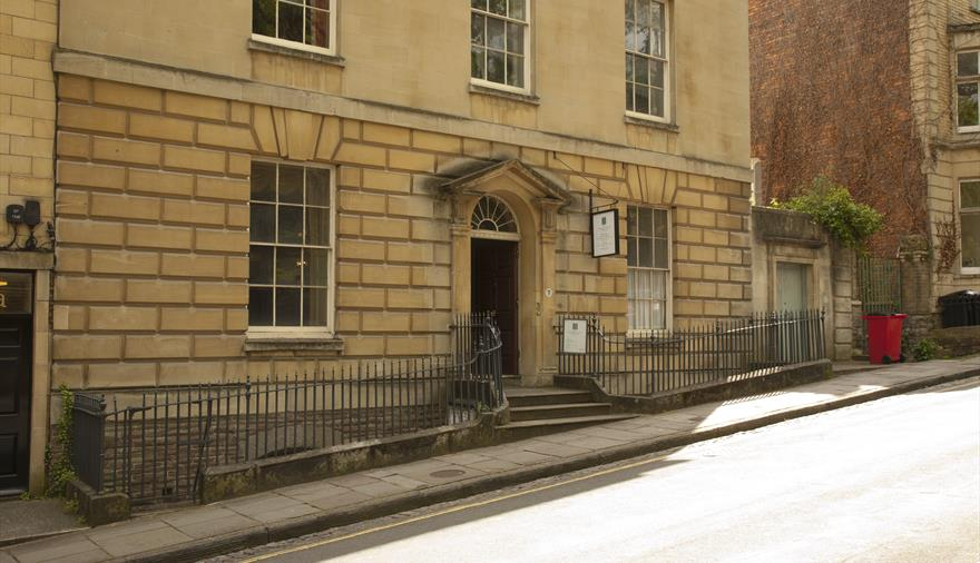 The Georgian House Museum exterior