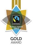 Fairtrade Business Awards 2015 Gold Award