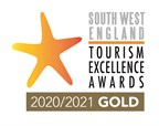 South West Tourism Excellence Awards - Gold - 2020/2021