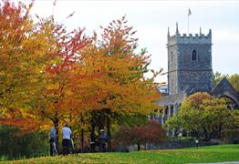 Castle Park Bristol - St Peter's Church