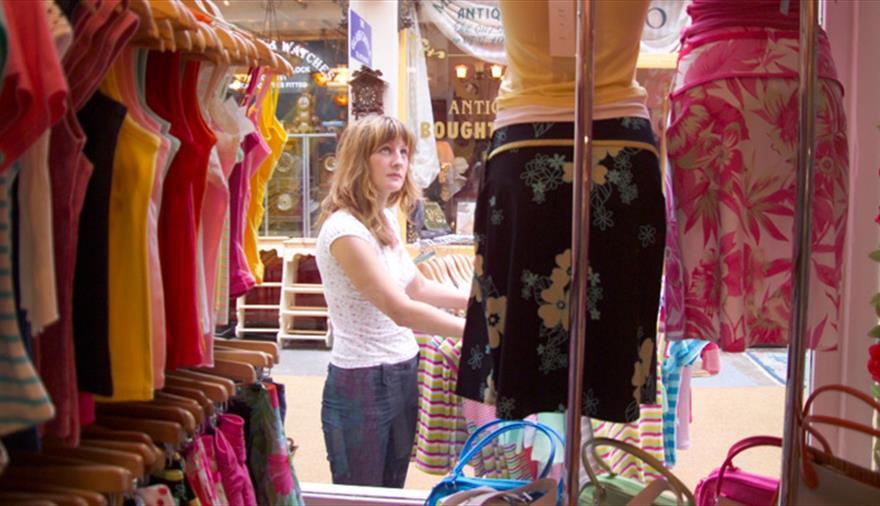 Shopping in Clifton Village Bristol