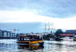 Sail past Brunel's famous landmarks with Bristol Ferry