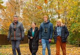Team Walks at WWT Slimbridge Wetland Centre T