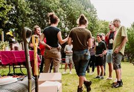 Become a Garden Volunteer at Trinity Centre