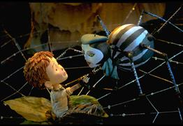 Film still from JAMES & THE GIANT PEACH